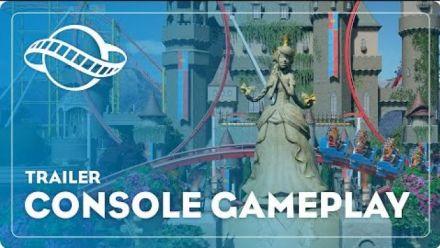 Vid�o : Planet Coaster: Console Edition : trailer de gameplay