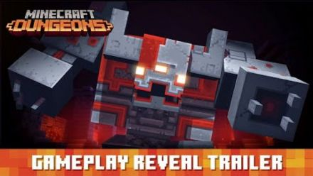 Vid�o : Minecraft Dungeons: Gameplay Reveal Trailer