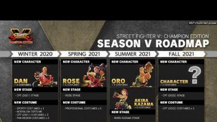 Vid�o : Street Fighter V Champion Edition : Combattants de la saison V