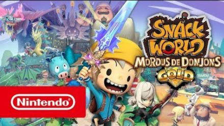 Snack World : Trailer d'annonce sur Switch