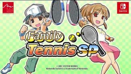 Vid�o : Family Tennis SP : Trailer d'annonce sur Switch (anglais)