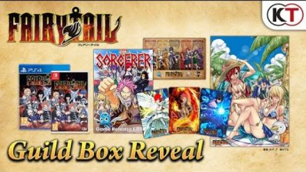 Vid�o : Fairy Tail : Trailer de l'édition Guild Box