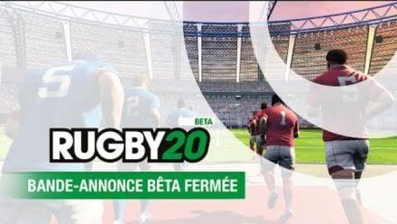 Vid�o : Rugby 20   Bande-annonce de la Bêta Fermée