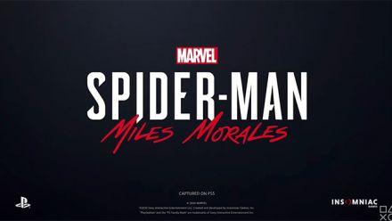 Vidéo : Spider-Man Miles Morales : Trailer d'annonce