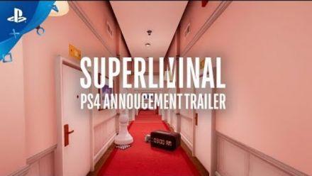 Vid�o : Superliminal Gameplay Trailer (State of Play 2019)