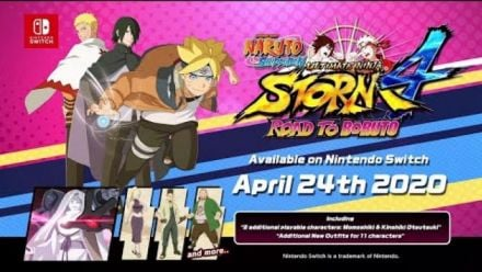 Naruto Shippuden: Ultimate Ninja Storm 4 Road to Boruto : Trailer d'annonce sur Switch