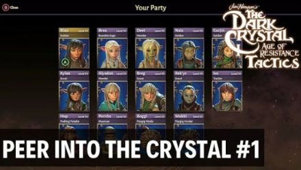 Vid�o : The Dark Crystal: Age of Resistance Tactics - Turn-based Strategy