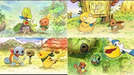 """Vidéo : Pokémon Donjon Mystère Equipe de Secours DX : Trailer """"L'aventure attend"""""""