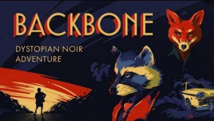 Vidéo : Backbone - Reveal Trailer - Beautiful dystopian noir adventure coming 2021!