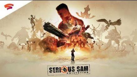 Vidéo : Serious Sam Collection - Official Trailer | Stadia