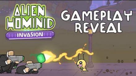 Vid�o : Alien Hominid Invasion: First Look Gameplay