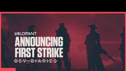 vidéo : Le tournoi VALORANT First Strike // Journal des développeurs - VALORANT