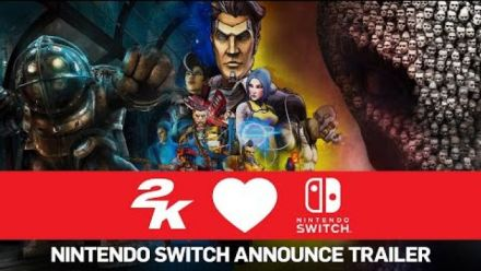 2K : BioShock, XCOM et Borderlands sur Switch