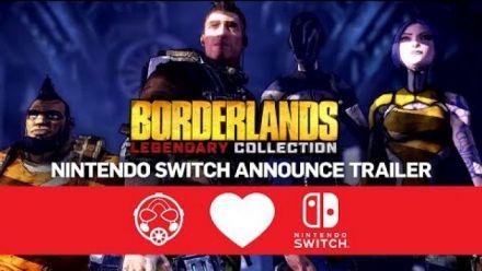Vid�o : Borderlands Legendary Collection - Nintendo Switch Announce Trailer