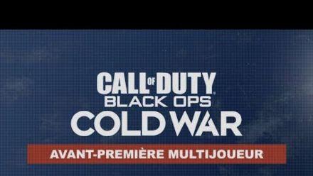 Avant-première Multijoueur de Call of Duty®: Black Ops Cold War