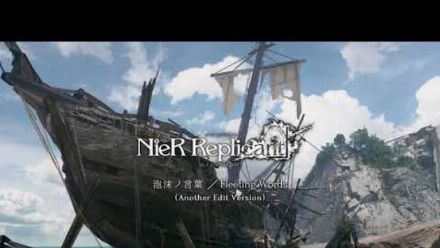 """Vid�o : """"泡沫ノ言葉/Fleeting Words - Another Edit Version"""" from NieR Replicant ver.1.22 Soundtrack Weiss Edition"""