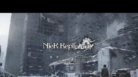 """vidéo : Snow in Summer - Another Edit Version"""" from NieR Replicant ver.1.22 Soundtrack Weiss Edition"""