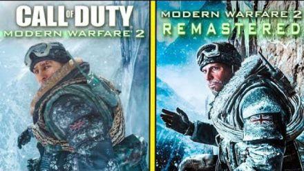 Vidéo : Call of Duty : Modern Warfare 2 comparatif