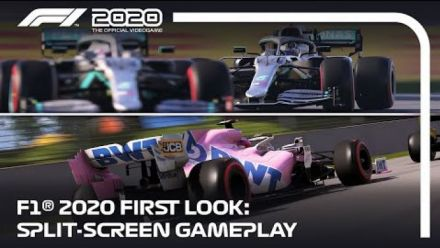 F1 2020 First Look | Split-screen Gameplay (UK)