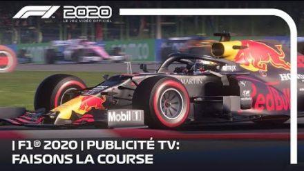 F1 2020 dévoile son Spot télévisé