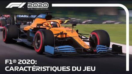 F1 2020 Caractéristiques du jeu