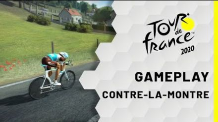 Tour de France 2020 : Gameplay Contre-la-montre