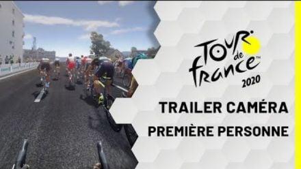 vid�o : Tour de France 2020 : Vue première personne Gameplay