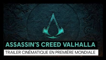 Assassin's Creed Valhalla Cinématique Trailer