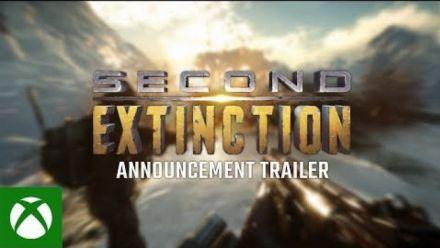 Vidéo : Second Extinction : Trailer d'annonce