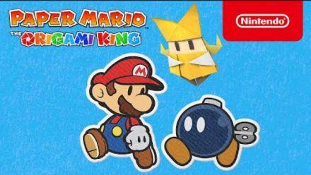 vidéo : Paper Mario The Origami King : L'univers en détail