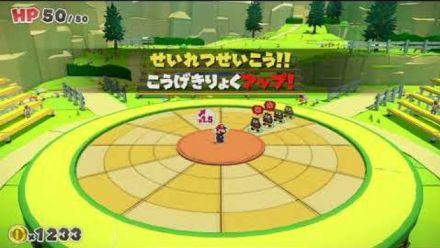 vidéo : Paper Mario The Origami King : Nouveau système de combat