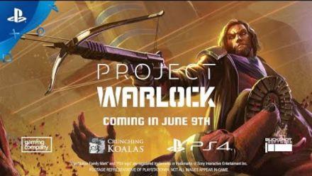 Vidéo : Project Warlock : Announcement Trailer sur PS4