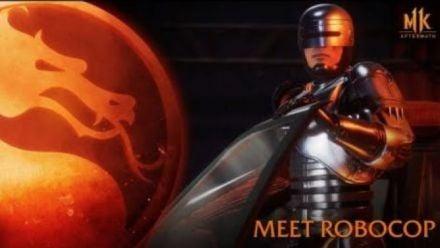 vid�o : Mortal Kombat 11: Aftermath - Meet RoboCop