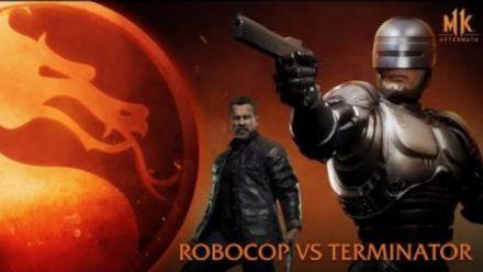 vid�o : Mortal Kombat 11: Aftermath - RoboCop vs. Terminator (Round 1) TRAILER