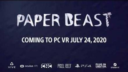 Vid�o : Paper Beast : PC gameplay trailer