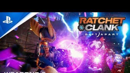 Ratchet & Clank Rift Apart : Bande-annonce des armes
