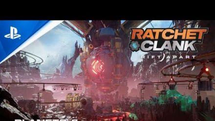 Ratchet & Clank Rift Apart : Bande-annonce des planètes