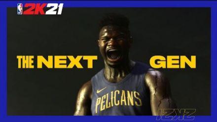 NBA 2K21 - Zion Arrive (Athlète de la jaquette nouvelle génération)