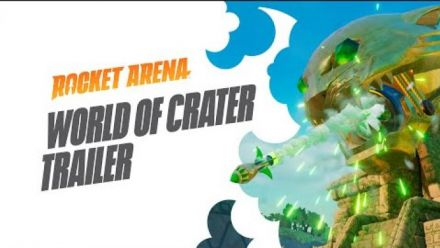 Vidéo : Rocket Arena - Bande-annonce du monde de Crater
