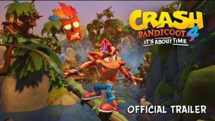 vidéo : Crash Bandicoot 4 : Trailer d'annonce