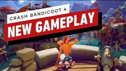 Vidéo : Crash Bandicoot 4 : Gameplay d'IGN