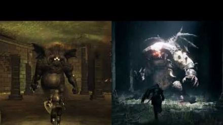 Demons Souls Ps5/Ps3 Gameplay Tutorial Comparison (vidéo de Joshua Gamez)