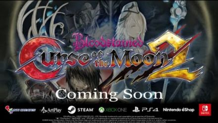 Vid�o : Bloodstained: Curse of the Moon 2 - World Premiere Trailer