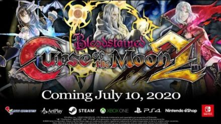 Vid�o : Bloodstained: Curse of the Moon 2 - Official 2nd Trailer