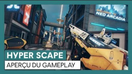 vidéo : HYPER SCAPE - Aperçu du gameplay [OFFICIEL] VOSTFR