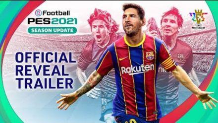 vid�o : eFootball PES 2021 Season Update - Official Reveal Trailer