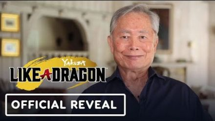 Yakuza: Like a Dragon - George Takei and Kaiji Tang Announcement Video