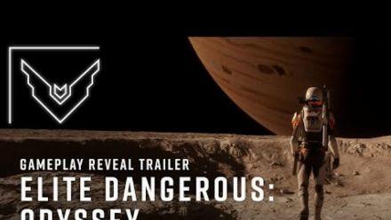 Vid�o : Elite Dangerous: Odyssey Gameplay Reveal Trailer