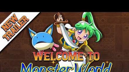"Wonder Boy Asha in Monster World : Bande-annonce ""Bienvenue à Monster World"""