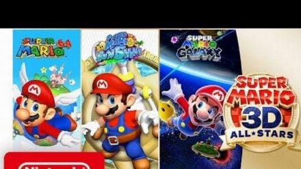 Vid�o : Super Mario 3D All-Stars : Trailer de lancement